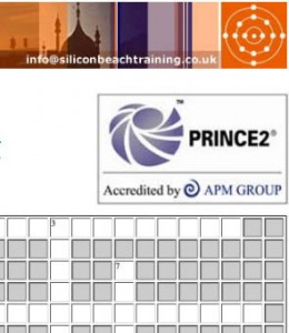 PRINCE2 Training Crossword