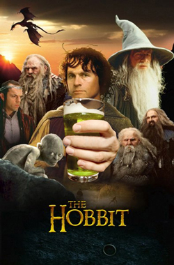 the-hobbit-drinking-a-gollum