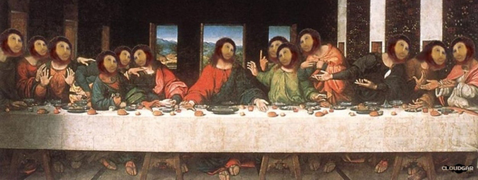 Ecce Homo the Last Supper