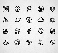 hand-drawn_social_icons