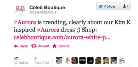 Aurora-tweet