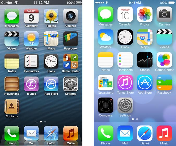 iOS6-vs-iOS7