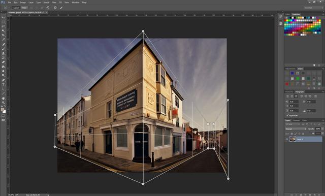 Photoshop Perspective Warp Tutorial