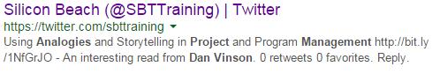 Dan Vinson Tweet