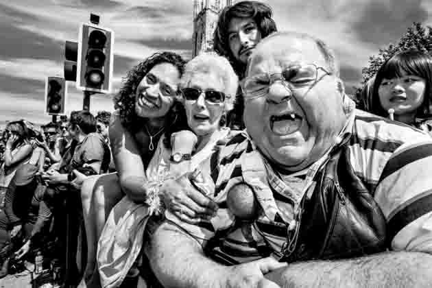 Brighton Pride Spectators