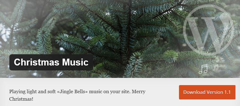 Christmas Music Plugin