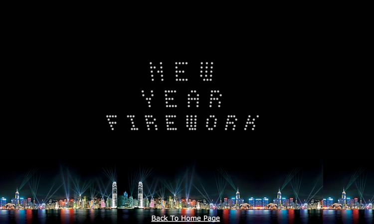 Happy New Year Firework Plugin