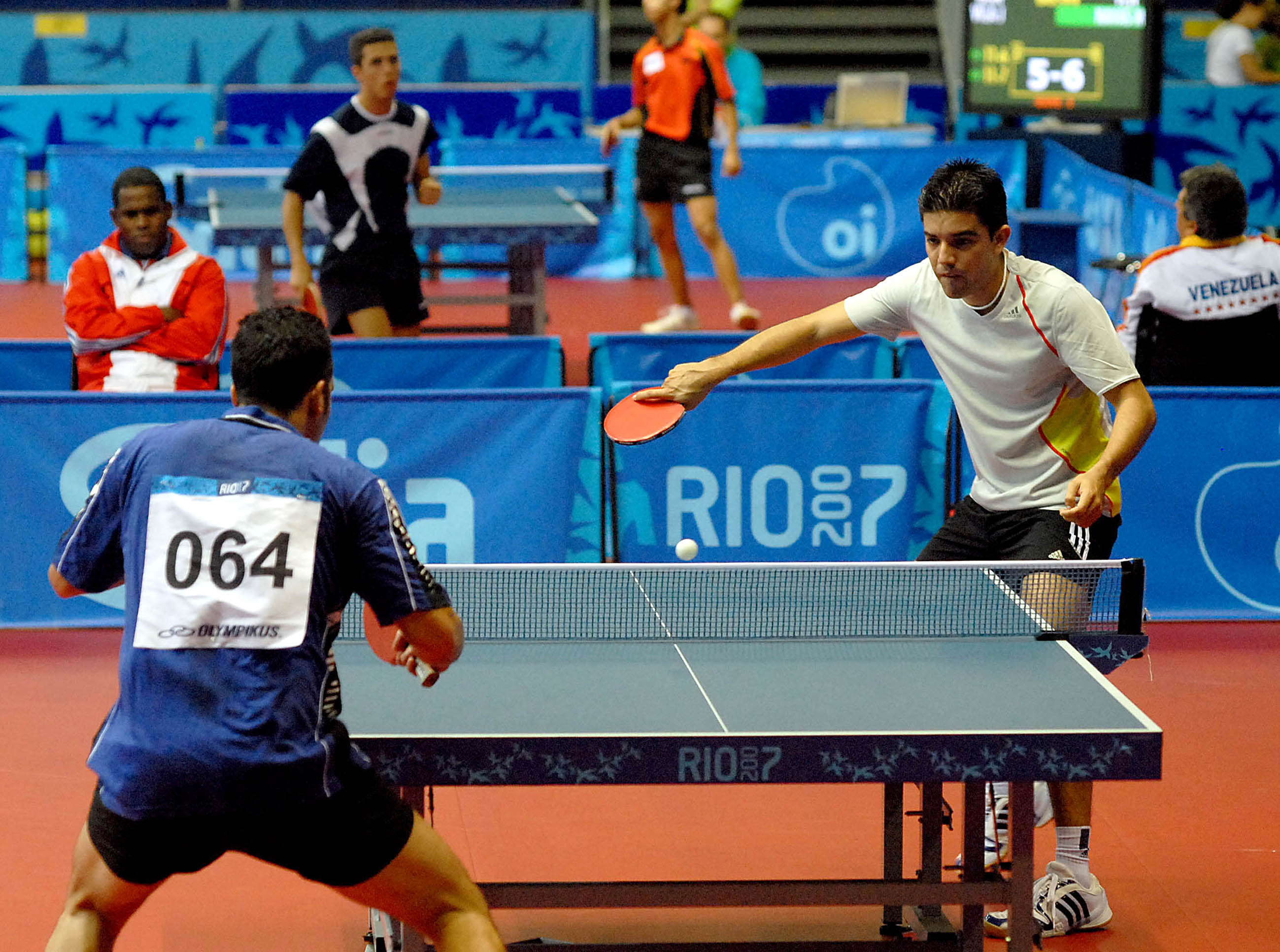 Table Tennis Rio 2007