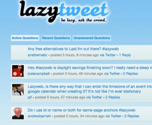 Lazy-Tweet