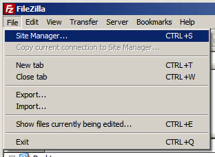 filezilla-site-manager