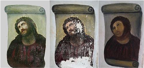 Ecce Homo Restoration