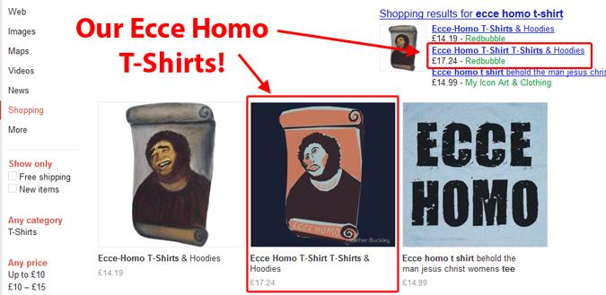 Ecce Homo T-Shirts