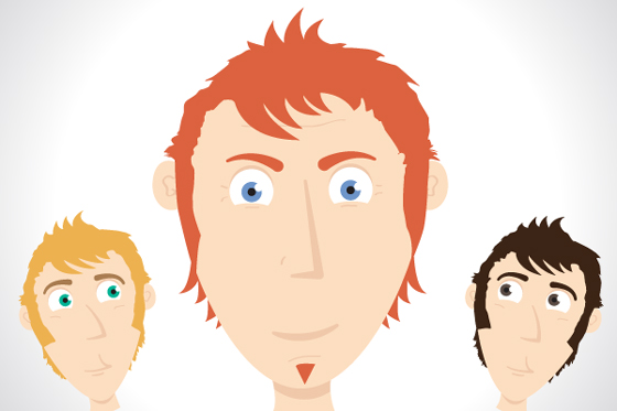Character Design Using Illustrator : Drawing faces in illustrator